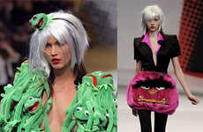 Jean-Charles de Castelbajac Went Kermit Crazy For Fall 2009