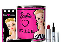 Stila Launches 'Barbie Loves Stila' Cosmetics Paint Cans