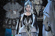 Space Glam - John Galliano Fall Ready-to-Wear Is Perfect For Galactic Gypsies
