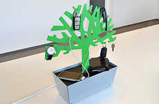 'The Tree of Charge' Brightens Your Desktop WhileYou Charge Your Gadget