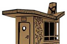 The 'Villa Julia' Cardboard Playhouse Lets Kids Play Designer