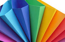 Rainbow Office Supplies - Multicolored Expanding Files Make Organization Fun