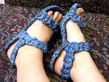 DIY Eco-Sandals
