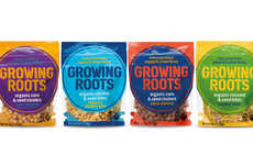 Plant-Powered Snack Clusters - Unilever's 'Growing Roots' Brand Evolved Out of a Social Mission