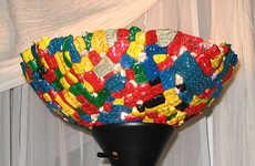 DIY LEGO Lamps