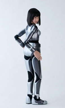 Fashion Model Robots - The HRP-4C Is Japan's Answer to Unaging Female Models