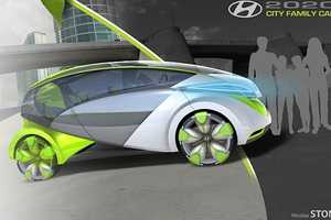 Hyundai 2020 Concept Uses Photosynthesis to Charge in Seconds