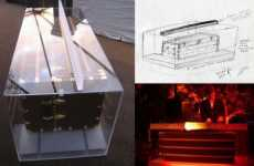 Haute Designer DJ Booths - Custom Louis Vuitton Acrylic DJ Booth For Really Swank Fetes