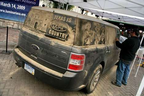 Dirty Car Art Campaigns