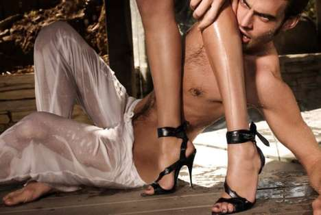 Scandalously Violent Footwear Ads