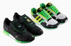 Electric Green Sneakers - Adidas Originals Electro Pack Celebrates the Springtime
