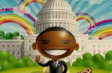 Russia's Duet Ice-Cream Ad Features Cartoon Obama and Tons of Rainbows
