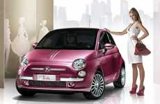 Real-Life Barbie Cars - Sparkling Pink Fiat 500 Gift For Barbie's 50th Birthday