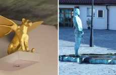 Peeing Public Statues - 16 Weird Outdoor Sculptures From Around the World