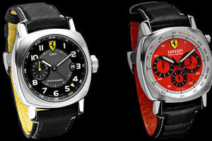 Ferrari Chronograph Collection in Signature Red and Yellow