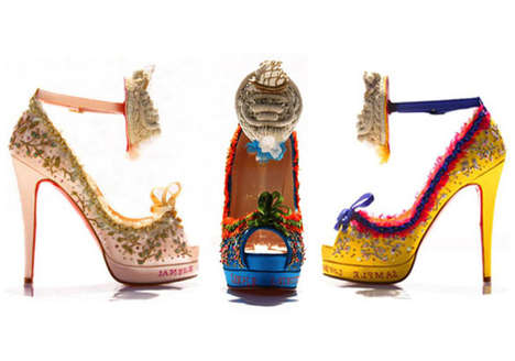 Marie Antoinette Shoes - Only 36 Pairs of These Gorgeous Christian Louboutin Luxury Heels Made
