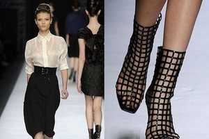 These Yves Saint Laurent Hot Catwalk Boots Are Captivating