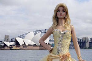 Sydney Celebrates Barbie's 50th With Enormous Cake
