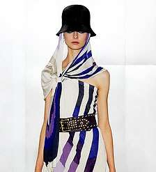 Stylish Scarves for Spring - Designers Show How to Wear This Affordable Accessory