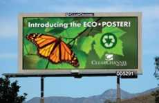 Greener Billboards - Top 3 Outdoor Communications Companies Adopt Eco Posters