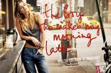 "Promiscuous Denim Campaigns - Levi's Asks, ""Who Do You Want To Unbutton?"""