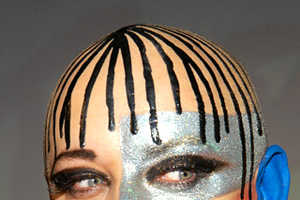 80's Face Paint is Back in Fashion, and It's Bad