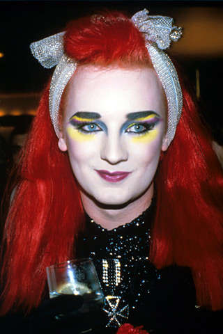 Boy George Runway Makeup
