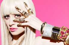 Over-Accessorizing Editorials - Nicole Richie Stacks Rings & Bracelets for Black Book