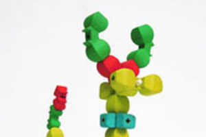 'Topobo' Construction Kit Remembers Its Motions