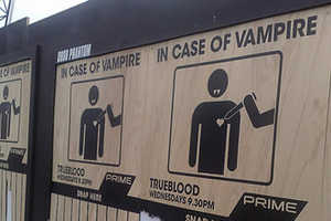 'In Case of Vampires' Campaign for
