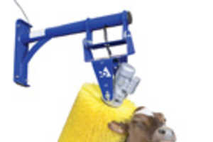 DeLaval Automated Cow Brush Makes Pretty, Happy Cows