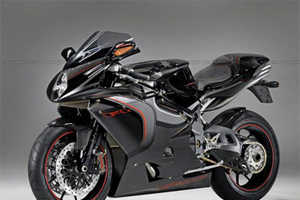 Only 100 'MV Agusta F4CC' Custom Motorcycles Made