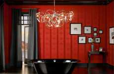 Dramatic Bathroom Decor by Kaldewei Inspired by Twilight?