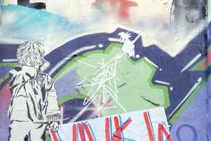 'Vive La Crise' Street Poster Art By SP-38