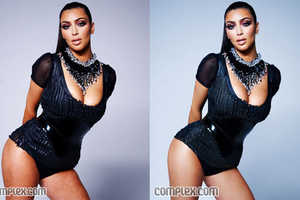 Complex Magazine Forgets to Digitally Touch Up Kim Kardashian