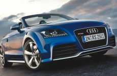 Drop-Top Auto Design Fusion - Audi TT-RS Roadster Takes Aesthetic Cues From the R8