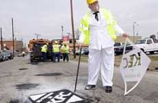 KFC Gets Into The Pothole Repairing Business