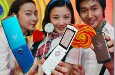 The Colorful LG Lollipop Phones Display LED Animations