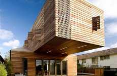 Mythological Homes - The Wooden 'Trojan House' Hides Deluxe Living Space
