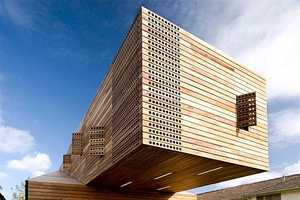The Wooden 'Trojan House' Hides Deluxe Living Space