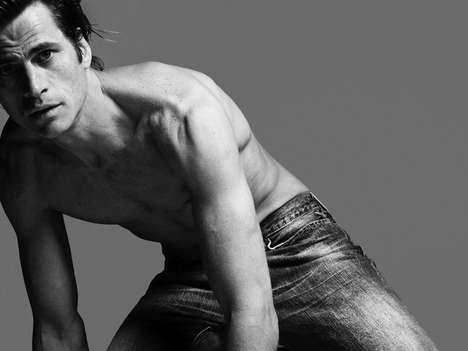 No Photoshop Editorials - 'Super Models' Go Natural For Hedi Slimane in Vogue Hommes