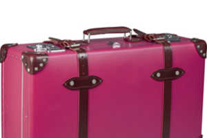 Pink Suitcases and Rose Travel Totes from Vivre