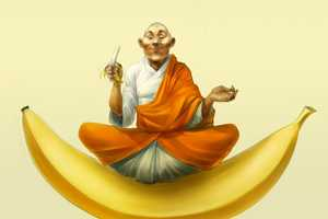 The Online Church of the Banana Idolizes the Yellow Fruit