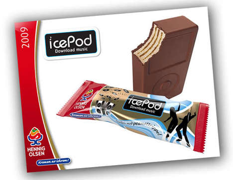 iPod Shaped Ice Creams