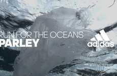 Charitable Running Collaborations - adidas and Parley Take Action to Protect our Oceans