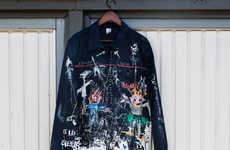 Collaborative Fashion Art Programs - M.C.Overalls Taps into Robert Alonzi for Its Inaugural Exhibit