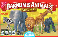 Free-Range Animal Crackers - Barnum's Animal Crackers Now Feature PETA-Friendly Packaging