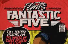 Community-Empowering Comic Book Covers - STATE Bags Raises Awareness with Black Women Comics