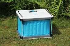 Affordable Eco-Friendly Coolers - Fenik's Yuma 60L Cooler is Ideal for Off-Grid Living