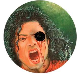 Bleeding CDs - Indian Direct Mailers Discouraging Piracy WIth Wounded Music Icons